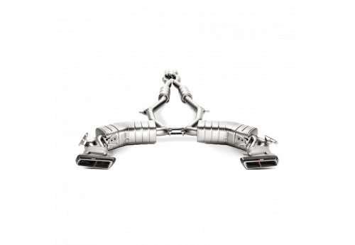 Akrapovic Evolution Line exhaust system for Mercedes AMG S 63 Coupe (C217)