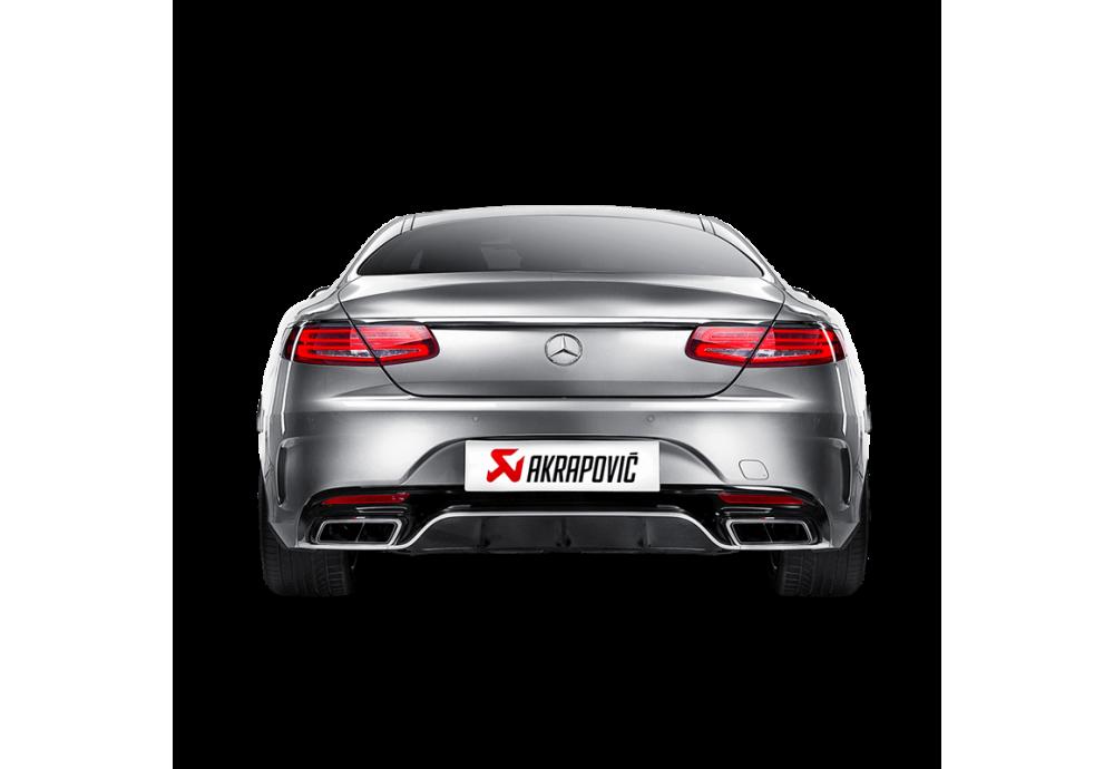 Akrapovic Evolution Line (Titanium) for Mercedes AMG S 63 Coupe (C217)