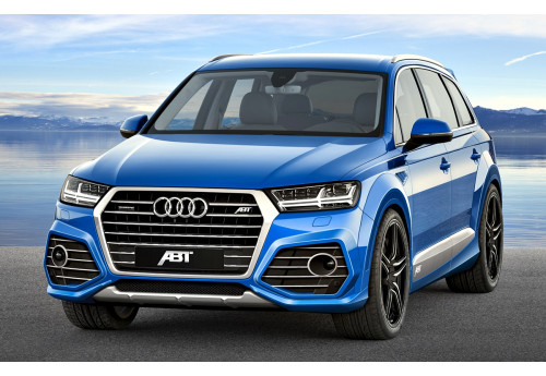 Audi Q7 (4M0) ABT Aero package Wide body