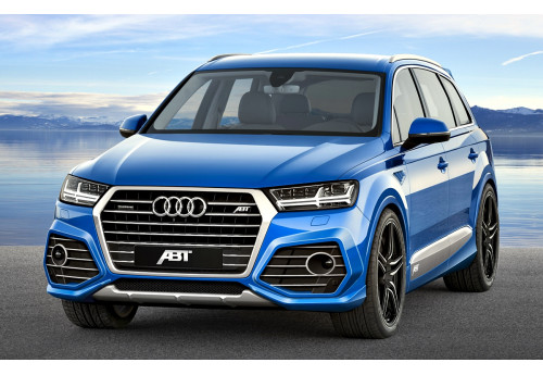 Audi Q7 (4M0) ABT Aero package Slim body