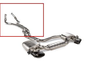 AUDI RS 7 SPORTBACK (C8) Akrapovic Link pipe set (SS)