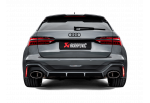 AUDI RS 6 AVANT (C8) Akrapovic Evolution line OPF/GPF