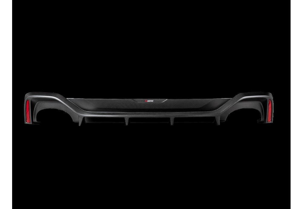AUDI RS 7 Sportback (C8) Akrapovic  Rear Carbon Fiber Diffuser Matte
