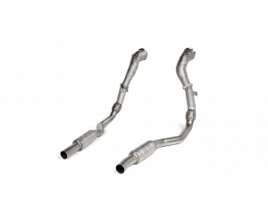 AUDI RS7 Sportback (C8) Akrapovic Downpipe + Link pipe set