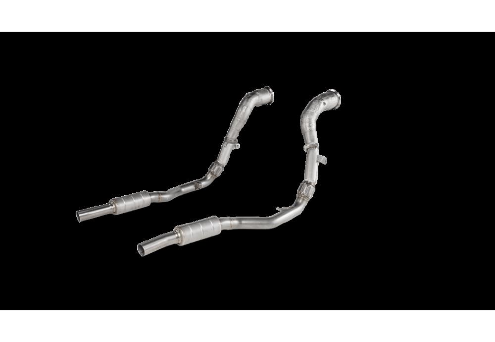 AUDI RS Q8 (4M) OPF/GPF Akrapovic Downpipe / Link pipe set