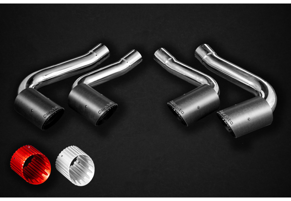 BMW X6M (G06) Capristo Exhaust system Cat back+Middle part