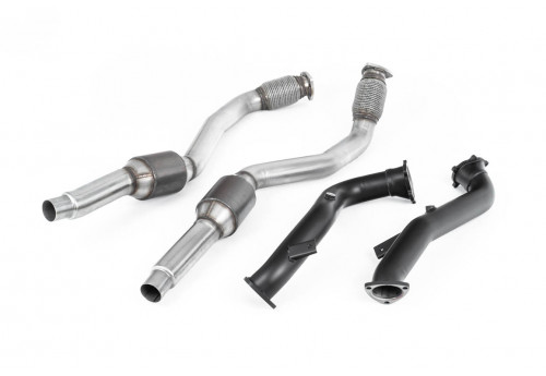 Audi S6/S7 RS6/RS7 (C7) Milltek Downpipes and Sports Cats set OEM fit
