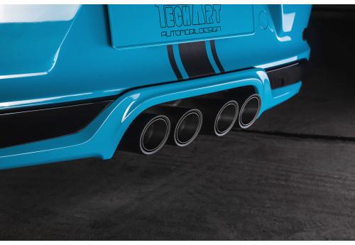 Porsche 911 (991.2)  Rear diffuser 2 add-on Techart