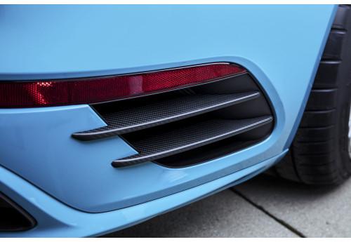 Porsche 911 (991.2) carbon Louvres rear apron Techart