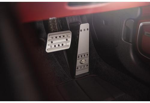 Porsche Panamera (971) TECHART aluminium pedal covers