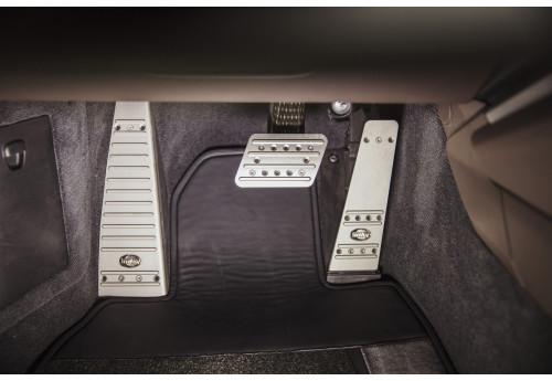 Porsche 911 (992) Aluminum sport pedals covers Techart